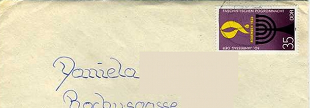 """Someday the Wall will fall"" – Letter from an East German Penpal (Hausarchiv)"